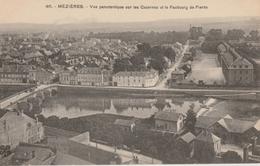 17  / 2 / 2 6   MÉZIÈRES  ( 08 )  -  VUE  PANORAMIQUE  SUR  LES CASERNES  ET  LE  FAUBOURG  DE   PIERRE - France