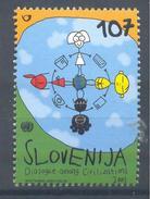Slovenia Slovenie Slowenien 2001 Mint MNH **: Unesco; Dialog Among Civilisations; Telephone; Computer