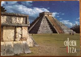 Chichen Itza, Q.Roo, Mexico, El Castillo, Used Postcard - Mexico
