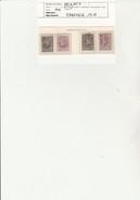 COLOMBIE - N° 222 A à 225 A - ANNEE 1918 -  OBLITERE  -  COTE : 19 € - Colombie