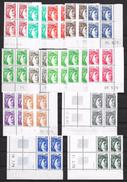 T 00580 - France, 15 Coins Datés De Sabine De Gandon Neufs Luxe - Colecciones (sin álbumes)