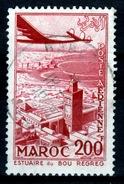 French Morocco, Bou-Regreg Estuary, 200f., 1955, VFU - Morocco (1891-1956)