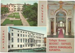 T2434 Venezia - Palazzo Zenobio - Collegio Armeno Moorat Raphael / Non Viaggiata - Venezia (Venice)