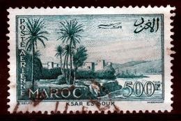French Morocco, Ksar-es-Souk, 500f., 1955, VFU - Morocco (1891-1956)