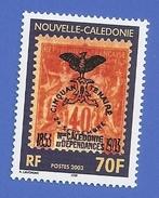 NOUVELLE CALEDONIE 903 NEUF ** CENTENAIRE DU 1er CAGOU - New Caledonia