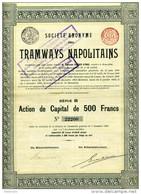 Italie: TRAMWAYS NAPOLITAINS; Série B - Railway & Tramway