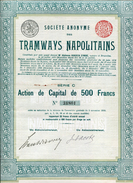 Italie: TRAMWAYS NAPOLITAINS; Série C - Railway & Tramway