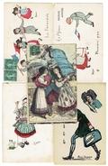 LOT 5 CPA - GUERRE 14/18 - THEME ALSACE LORRAINE - Frankreich