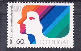 PORTUGAL 1985.ANO INTERNACIONAL DA JUVENTUDE   .AFINSA. Nº 1696 NUEVO  SIN CHARNELA .SES461GRANDE - 1910-... República
