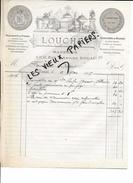 59 - Nord - DOUAI - Facture LOUCHET - Marbrier - 1907 - REF 58B - 1900 – 1949