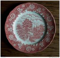 Staffordshire Homeland - Plate - Assiette  - Bord  - AS 2023 - Staffordshire
