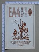 SPAIN    - QSL POSTCARD - EA4IJ   - 2 SCANS - (Nº17596) - Radio Amateur