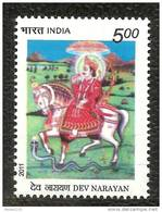 INDIA, 2011, Dev Narayan, Horse, Fauna, MNH, (**)
