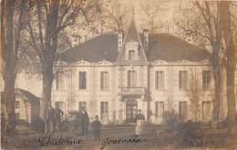 40 - LANDES / Linxe - Carte Photo - Château Jouendiou -  Beau Cliché Animé - Altri Comuni