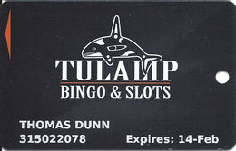 Tulalip Bingo & Slots - Marysville WA - Players Reward Card - Casino Cards
