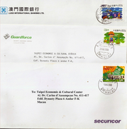 MACAU Lot Of Five Different Circulated Covers - Sonstige