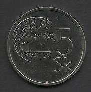 5 K. 1994, Slovakia - Slovakia
