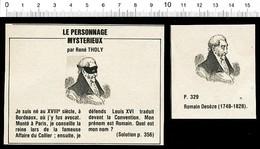 Humour Romain Decèze Avocat Né à Bordeaux Portrait  /  VP 198-PF-7 - Vieux Papiers