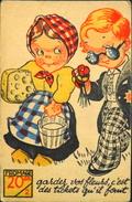 CHROMO & IMAGE - CHROMO. - Satyrique Sur Le Rationnement Pendant La Guerre - En TB. état - Old Paper