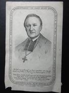 Doodsprentje MALOU Joannes-Baptist °Ieper 1809 +Brugge 1864 BISSCHOP (lichte Beschadiging Links Onder) - Obituary Notices