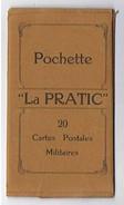 """POCHETTE """"La Pratic"""" 16 Cartes Postales Militaires Vierges - Otros"""