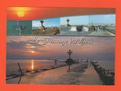 ET/110 Ile De Noirmoutier Le Passage Du Gois  : Multivues 5 Vues Coucher De Soleil Vélos Voitures - Ile De Noirmoutier