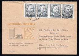 3294 - Alter Beleg Brief - Karl Marx Stadt Nach Hainichen 1984 - DDR