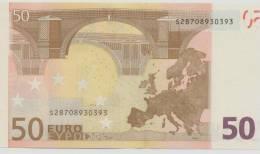 ITALY  50 Euro Trichet J049C4 UNC - EURO