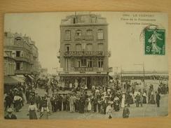 CPA LE TREPORT 76 Place De La Poissonnerie Nouvelles Galleries - Le Treport