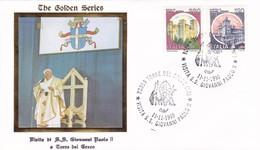 Vatikan / Italien. The Golden Series 1990. Visita Di  S.S. Giovanni Paolo II, A Torre Del Greco  11.11.1990 - FDC