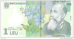 Romania - Pick 117 - 1 Leu 2005 - Unc - Romania