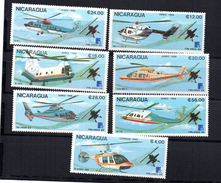 Serie Nº 1508 + A-1234/9 Nicaragua