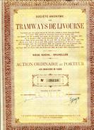 Italie: TRAMWAYS De LIVOURNE - Railway & Tramway