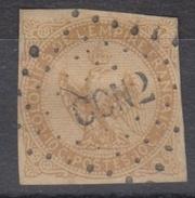 #115# COLONIES GENERALES N° 3 Oblitéré Losange CCN2 (Cochinchine)