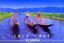 Inle Lake - Myanmar - Formato Grande Viaggiata - E - Myanmar (Burma)