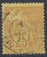 #115# COLONIES GENERALES N° 53 Oblitéré Cachet Maritime PAQ FR N N° 10