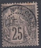 #115# COLONIES GENERALES N° 54 Oblitéré Nouméa (Nouvelle-Calédonie)