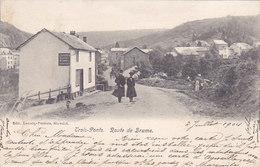 Trois-Ponts - Route De Brume (animée, Edit Lecocq-Peeters, 1904) - Trois-Ponts