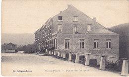 Trois-Ponts - Place De La Gare (animée, Ed. Collignon-Lekeu, Précurseur) - Trois-Ponts