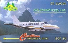 St. Lucia - Helenair Aircraft - 15CSLA - 1992, 14.692ex, Used - Saint Lucia