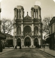 France Nice Basilique Notre-Dame Ancienne Photo Stereo NPG 1905 - Stereoscopic