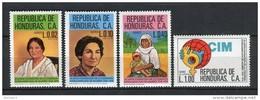 Honduras 1981. Mi 977-80 ** MNH. - Honduras