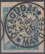 #115# COLONIES GENERALES TAXE N° 18 Oblitéré Dzaoudzi (Mayotte)