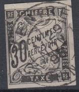 #115# COLONIES GENERALES TAXE N° 9 Oblitéré Bentré (Cochinchine)