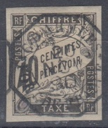 #115# COLONIES GENERALES TAXE N° 10 Oblitéré C.D'ARMEES Fort-de-France (Martinique)