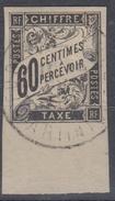 #115# COLONIES GENERALES TAXE N° 11 Bdf Oblitéré Fort-de-France (Martinique)