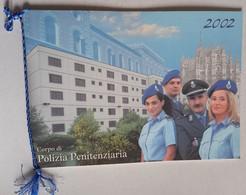2002 -CALENDARIO POLIZIA PENITENZIARIA COMPLETO CORDONCINO(130214) - Calendari