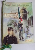 2003 -CALENDARIO CORPO FORESTALE COMPLETO CORDONCINO(130214) - Calendari