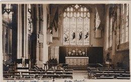 BEDFORD -  ST PAULS CHURCH INTERIOR - Bedford