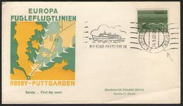 """DANEMARK:  Cachet Illustré """"PAQUEBOT"""" Sur LSC De 1963 - Dänemark"""
